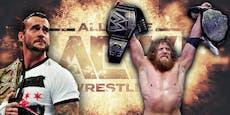 Angriff auf WWE: CM Punk und Daniel Bryan vor AEW-Debüt