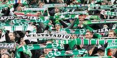 Rapid-Fans nach Spiel gegen Altach verprügelt