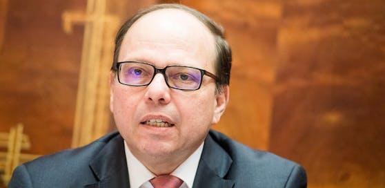 Präsident der Ärztekammer Thomas Szekeres