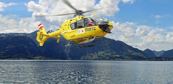 Der Taucher musste mit dem Rettungsheli in eine Spezialklinik geflogen werden.