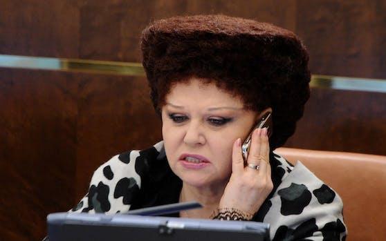 Die russische Senatorin Valentina Petrenko.
