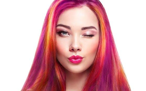 Warum sich auf eine Haarfarbe festlegen?