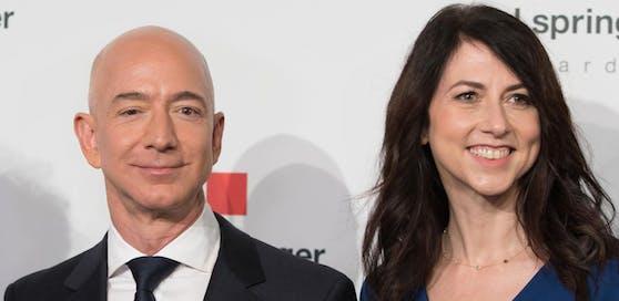 Jeff und MacKenzie Bezos: Reichster Mann der Welt lässt sich scheiden