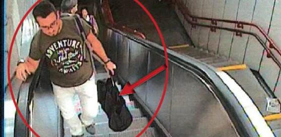 Verdächtiger mit Geldtasche: Wer erkennt diesen Mann?