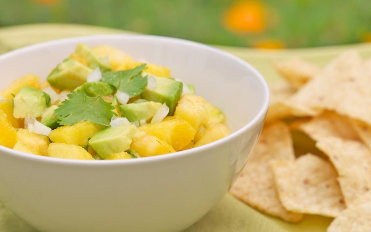 Fruchtiger Avocadosalat - vegan