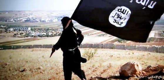 Ein Screenshot von einem Propaganda-Video des Islamischen Staates. Archivbild, 2014.