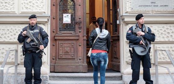 In Graz ist am Freitag der Dschihadistenprozess gegen mehrere Ehepaare zu Ende gegangen, Archivbild.