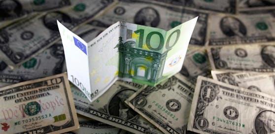 Der Euro ist auf höchstem Stand seit 2015.