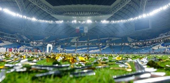 Das Al Wakrah Stadium in Katar ist schon bereit für die WM