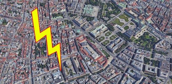 Stromausfall in weiten Teilen Wiens.