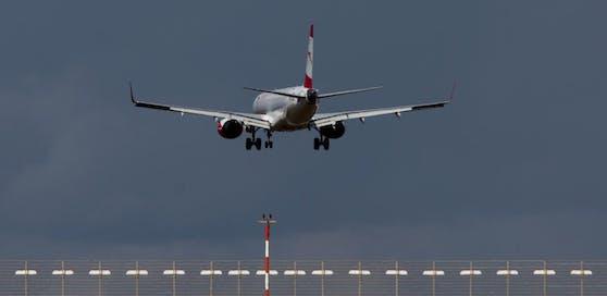 Symbolbild: Ein Embraer-Jet der AUA