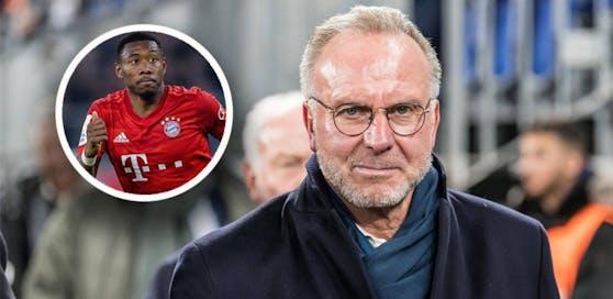 Karl-Heinz Rummenigge will David Alaba und Co. bald wieder spielen sehen.