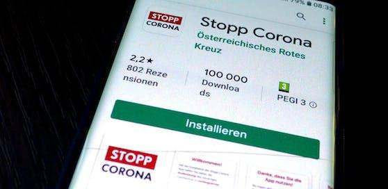 Stopp-Corona-App des Roten Kreuzes