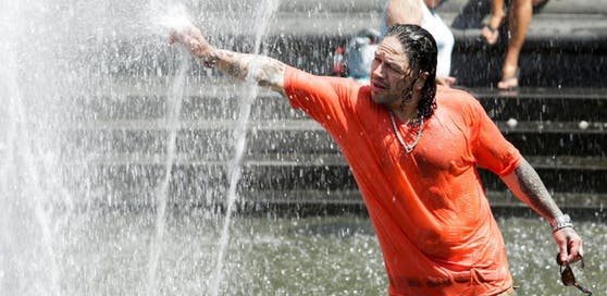 Abkühlung gesucht: Die Weltwetterorganisation fordert Vorkehrungen für die Hitzewelle.