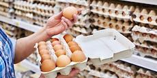 13 Cent! Aufregung über Billigeier in Supermärkten