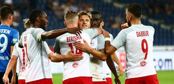 Salzburg siegt im Rückspiel gegen Constanta ohne große Mühe mit 4:0.