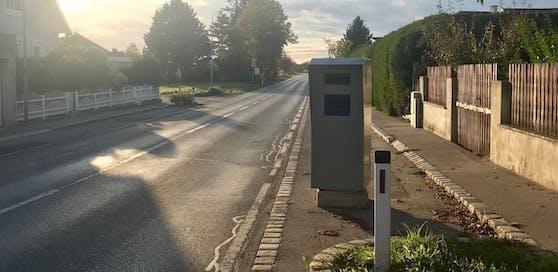 Neues Laser-Radar: Auch in St. Andrä-Wördern wird geblitzt.