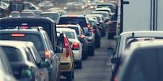 Achtung Stau: Ketzergasse Richtung Rodaun gesperrt