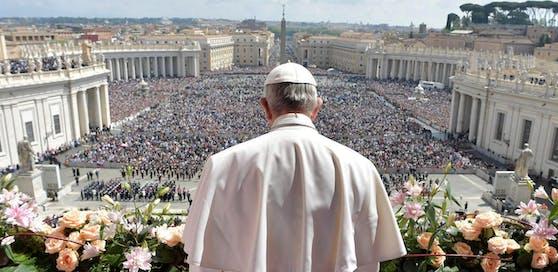"""Urbi et orbi"" 2017 mit Papst Franziskus."