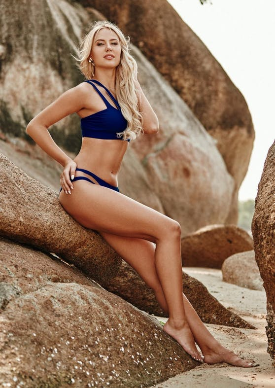 "Lina Kolodochka beim ""Bachelor in Paradise"""