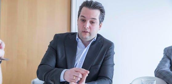 """Vizebürgermeister Dominik Nepp (FPÖ): """"Das ist eine Vertuschungsaktion."""""""