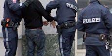 Im Rausch festgenommen - Mann attackierte Polizisten