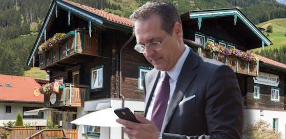 """Heinz-Christian Strache logiert oft in der Pension """"Enzian"""" in St. Jakob im Defereggental."""