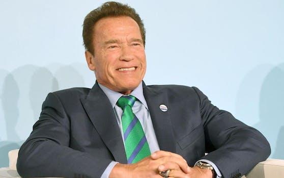Arnold Schwarzenegger wurde bei der Weltklimakonferenz in Bonn (D) wie ein Popstar gefeiert.