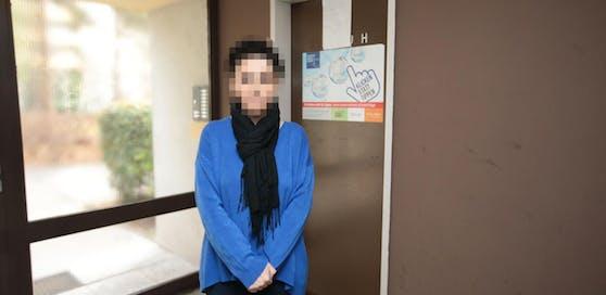 Opfer Meral T. (39) wurde nach eigener Aussage mit einem Türstopper angegriffen.