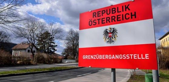 Grenzübergangsstelle der Republik Österreich.