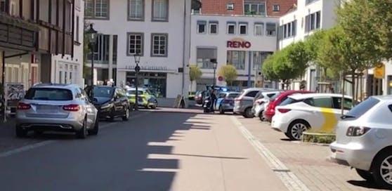 Die Polizei lieferte sich mit dem Täter einen Schusswechsel