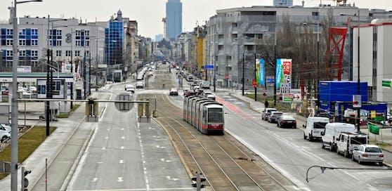 Der Vorfall ereignete sich in der Nacht auf Donnerstag auf der Brünner Straße in Wien-Floridsdorf. Symbolbild.