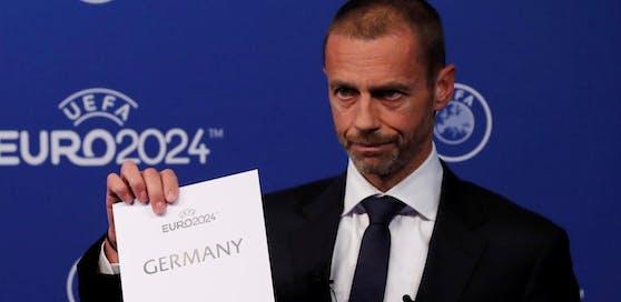 Deutschland richtet die EM 2024 aus