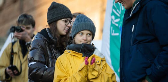 """Der Hype um die Klimaaktivistin Greta Thunberg (im Bild) ist auch in Linz angekommen. 2019 wurden drei mal mehr """"Gretas"""" geboren als noch 2018."""