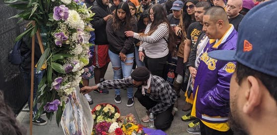 Trauer um Kobe Bryant in Los Angeles