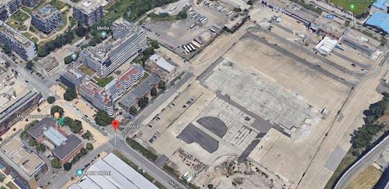 Neu marx: Hier könnte die neue Wiener Eventhalle entstehen.