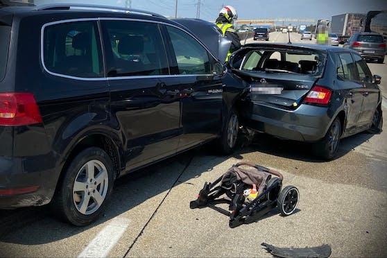 Unter den Verletzten war auch ein Baby.