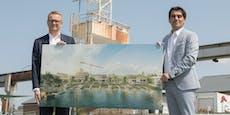 Neue Werft in Korneuburg nimmt Gestalt an