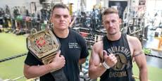 Hoher Besuch! WWE-Star WALTER bei DAS Wrestling