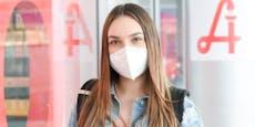 Maskenpflicht in Innenräumen soll Delta ausbremsen