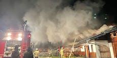 Almhütte in Kaprun in Flammen – mehrere Verletzte
