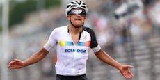Sensation in Tokio! Carapaz holt Rad-Gold für Ecuador