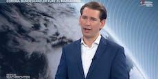 Kanzler Kurz hat im TV düstere Corona-Prognose