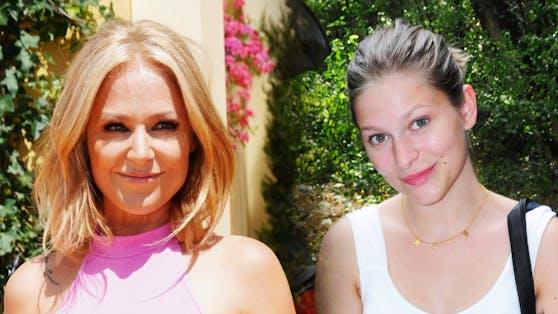 Michelle und Tochter Marie Reim
