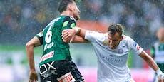 Veilchen-Fehlstart: Ried schlägt Austria mit 2:1