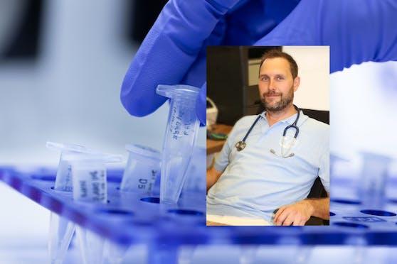 Dr. Florian Hoffer aus dem Bezirk Melk will kostenlose PCR-Tests in seiner Ordination anbieten.