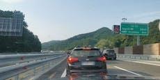 Riesiger Stau auf der Urlaubs-Route nach Kroatien