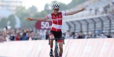 GOLD-Sensation! Kiesenhofer ist Rad-Olympiasiegerin