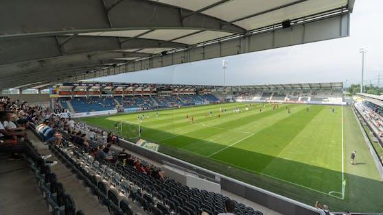 Die Cashpoint Arena – das Fußballstadion von Altach.