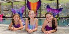 Schwimmen lernen wie eine Meerjungfrau: So war's!